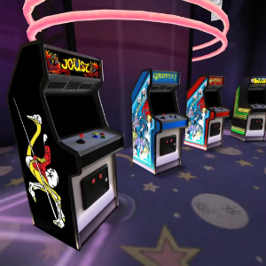 『Oculus Arcade』- 多数のレトロなアーケードゲームのプレイできる仮想世界のゲームセンター