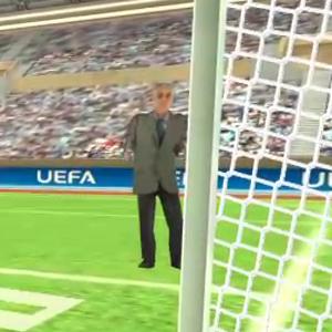 『Goalkeeper VR』- 思わず腹筋に力が入る!キーパーとしてひたすら飛んでくるボールを受け止めるサッカーゲーム