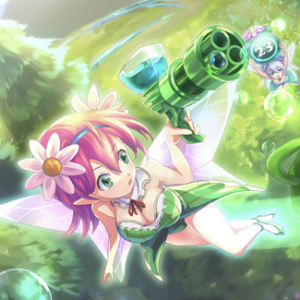 『オハナちゃん』- 花を守る妖精となってオハナちゃんを守ろう!キュートなキャラデザが魅力の360°シューティングゲーム