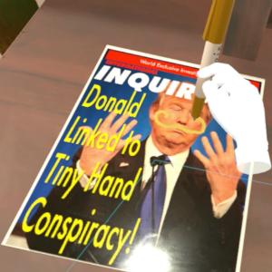 ドナルド・トランプになりきれるHTC Vive向けVRゲームが登場!『Trump Simulator VR』が98円でSteamにて配信中